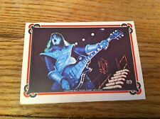 1978 KISS Ace Frehley #19 Non-Sport Trading Card Kiss Hard Rock Heavy Metal old