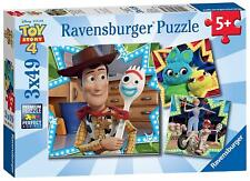 Ravensburger TOY STORY 4, 3 X 49PC JIGSAW PUZZLES Toys Games BN
