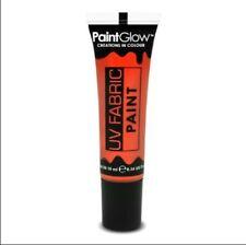Paintglow pintura de tela ultravioleta Neón naranja 10ml
