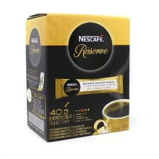 Nescafe Reserve Premium Instant Coffee 40 Sachet Ground Roasted,120g Expired