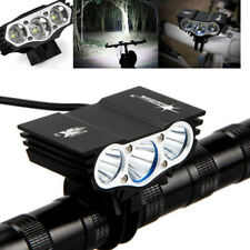 Waterproof Bicycle 4 Modes USB Headlamp 15000LM XM-L T6 LED Cycling Bike Lights