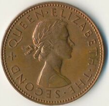 COIN / NEW ZEALAND / HALF PENNY ELIZABETH II. 1964      #WT8852