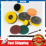 10 Piece Drill Brush Attachments Kit,Scrub Brush Set for Cleaning Tile and Grout