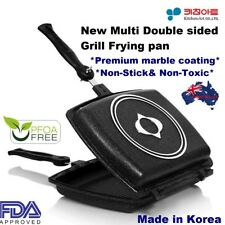Kitchen Art Double Sided Pressure Grill FryingPan NonStick Marble Coating KOREA