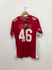 San Francisco 49ers NFL Men's Moro Poly Mesh Jersey - XXL - Red - 46 - New