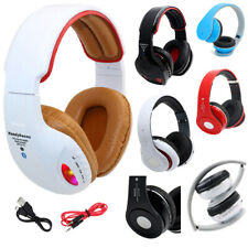 New Bluetooth Stereo Headphone Wireless Hands free Call Built In Mic With Cables