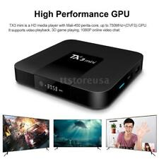 TX3 Mini Smart TV BOX Android 7.1 S905W 64Bit WiFi 4K Media Player 2GB+16GB M9N4