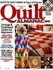 2008 Quilt Almanac Magazine #Q44