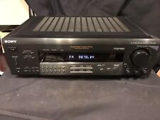 Sony STR-SE581 stereo tuner phono preamp Receiver Amplifier With Manual