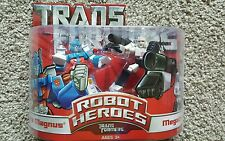 Transformers Robot Heroes - Transformers Ultra Magnus & Megatron