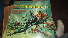 THUNDERBALL JAMES BOND 007 UA SOUNDTRACK LP SEALED JOHN BARRY TOM JONES