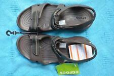 BROWN Crocs Comfort Design Men's Swiftwater River Sandal. Size M12 NEW rrp$69.99