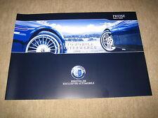 BMW Alpina D3, B3, B5 S,  B6 S, B7 Preisliste price list von 3/2009