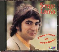 SERGE LAMA - D'AVENTURES EN AVENTURES - CD ALBUM [73]