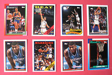 TOPPS 1993    ARCHIVES......BASKETBALL...USA.....X 8 CARDS........VG+