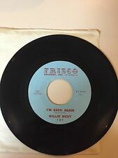 NORTHERN SOUL 45 RPM RECORD - WILLIE WEST - FRISCO RECORDS, Inc. 107