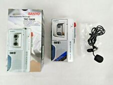 Sanyo TRC-590M Microcassette Voice Recorder Excellent Dictaphone