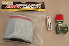 Suzuki LTR450 Tune Up Kit Maxima Air Oil Filter NGK Spark Plug LT450R LTR 450 LT