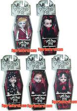 Living Dead Dolls MINI SET 5-DOLLS SERIES 2 MEZCO Deadbra Lizzie Kittie Bedtime