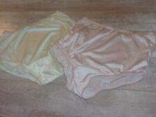 Two Pair of Granny Panties Vanity Fair Nylon Silky, Lightweight, Soft Sz 5/S