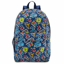 Disney Store Parks Authentic Disneyland Deluxe Backpack 2016 Theme Park Bag NWT