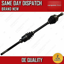 PEUGEOT 307 1.4 HDi,1.6 16V DRIVESHAFT + CV-JOINT OFF SIDE 2000>on *BRAND NEW*