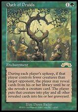 Giuramento dei Druidi - Oath of Druids MTG MAGIC Ex Exodus Eng EXC
