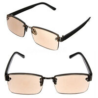 Brown Crystal Presbyopic Fatigue Relieve Reading Glasses Sunglasses Spectacles