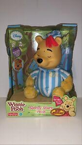 "Winnie The Pooh ""Sleepy Stars Pooh"" Interactive Plush Toy Fisher Price Brand New"