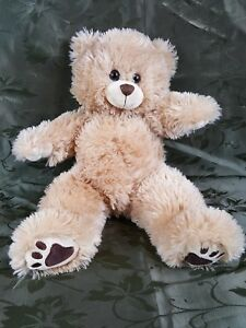 "The Bear Factory Tan/Brown Bear Stuffed/Plush Animal - 15"" EUC"