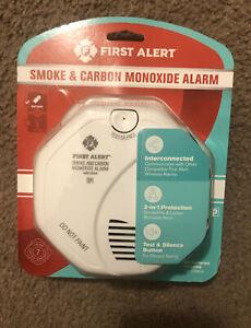FIRST ALERT SMOKE & CARBON MONOXIDE CO2 ALARM WIRELESS WORKS W/ RING NEW SEALED