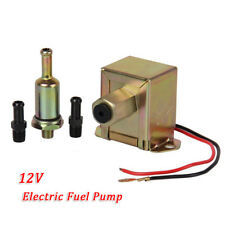 NEW Universal Fuel Pump + 2PCS Fuel Unions + In-Line Fuel Filter Petrol & Diesel