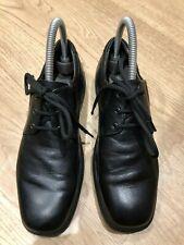 Geox Black Leather School Shoes, UK 5 (EUR 38), VGC