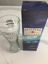 ST LOUIS BALLPARK VILLAGE FOX SPORTS GLASS