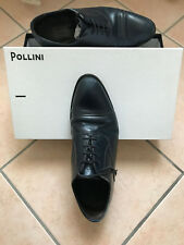 Pollini scarpe shoes classic blu Amalfi Piombo U.19139/M24 uomo taglia size 41