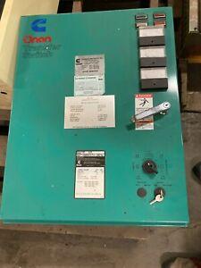 Onan OT 125 Automatic Transfer Switch