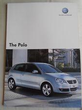 VW Polo range brochure Jul 2007