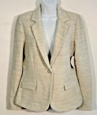 NWT CAbi Lemon Zest Cotton Blend Blazer Size M