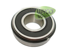 "BALL BEARING W/ RETAINER (SNAP RING), 1616-2RS-NR, 1/2""ID x 1-1/8""OD"