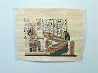 Genuine Hand Painted Egyptian Art on Papyrus Egypt King Tut  Nefertiti Cleopatra