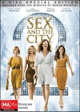 SEX & the CITY 2 (Sarah Jessica PARKER Kim CATTRALL) Romantic (2 DVD SET) Reg 4