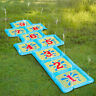 Water Sprinkler Kids Hopscotch Garden Game Play Fun Toy Swimming Inflatable Pool