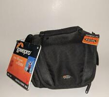 NWT Rare LOWEPRO Edit 100 Digital Camera Bag Padded Case Over Shoulder