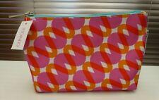 Kapitza x Clinique Pink & Orange Make up / Cosmetic Bag / Purse.