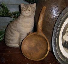 Primitive Antique Vtg Style Farmhouse Butter Paddle Lard Scoop Reproduction