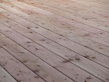 Terrassenholz deutsche Lärche 27x145 mm glatt gehobelt