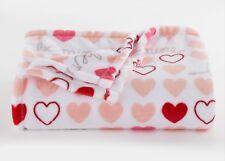 The Big One Super soft Plush Throw Be Mine Hearts Valentine 60x72 NWT $40
