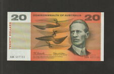 Australia,20 Dollars Banknote,(1966),About Uncirculated Condition,Cat#41-A
