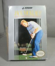 Vintage Jack Nicklaus Greatest 18 Holes Game for the Nintendo NES by Konami 1989