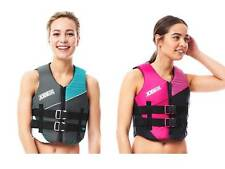 Jobe Nylon Vest Ladies Buoyancy Aid Jetski Wakeboard Waterski Kayak Sup